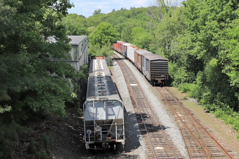 Walpole MA - Train Yard