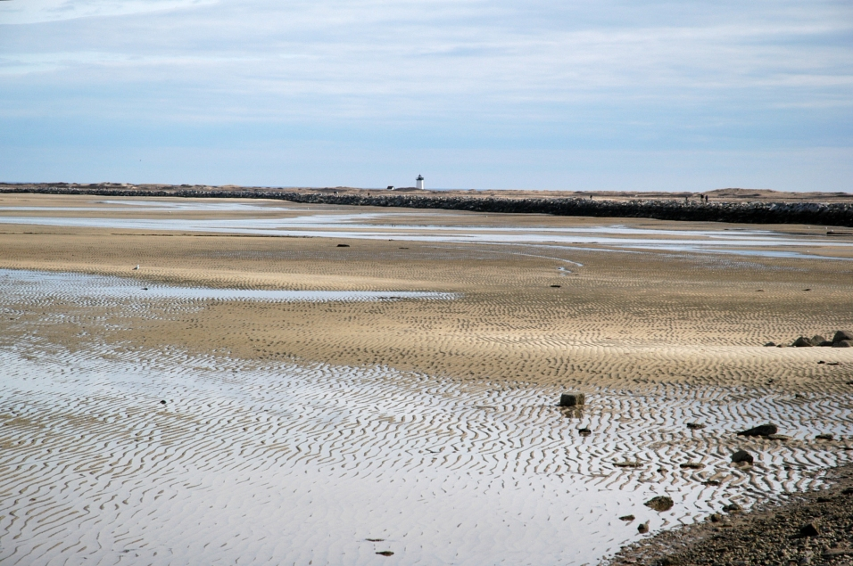 Low tide at Provincetown